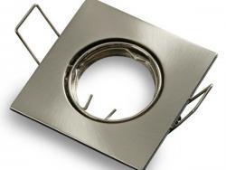 Square Ring Non-Adjustable GU5.3 2Pcs/Box None Inox