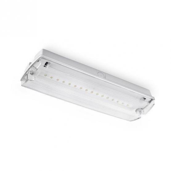 LED Bulk Head Emergency Exit Light 3 Hours Emergency Duration 4W None